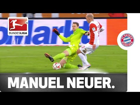 Next-Level Neuer – Slide Tackling in Midfield