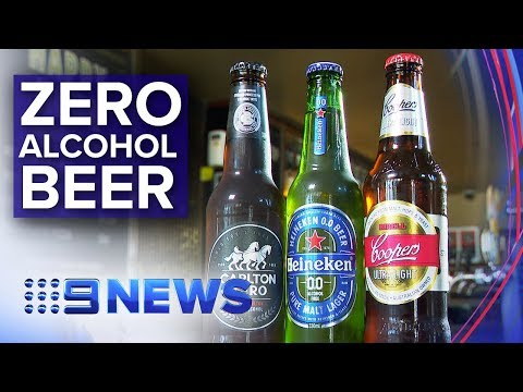 Zero alcohol beer  Is it any good? | Nine News Australia