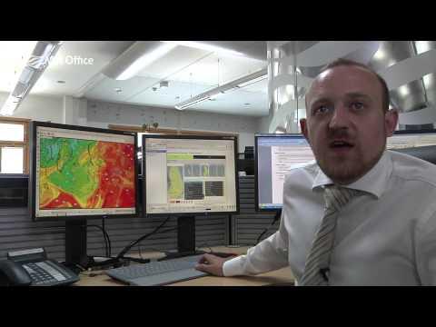 Tracking remnants of Hurricane Bertha towards UK this week-end.