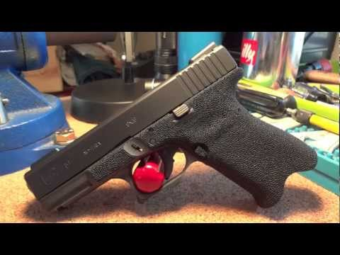 Glock 19 9mm with Grip Reduction. Stippled frame. & custom Cerakote
