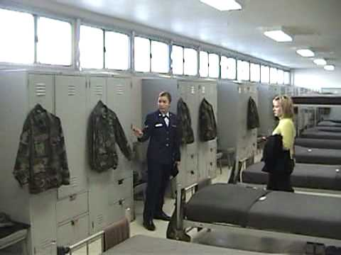 Texas Air Force Air Force Basic Training Dorm