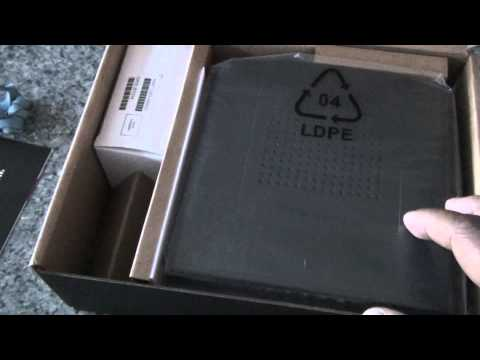 Unboxing of Thomson Technicolor Cable modem DCM 476