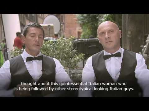 Domenico Dolce and Stefano Gabbana talk about Martini Gold