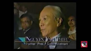 Phỏng vấn Tổng Thống VNCH Nguyễn Văn Thiệu - TTMD - V1