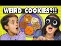 GUESS THAT WEIRD COOKIE CHALLENGE! | Kids Vs. Food