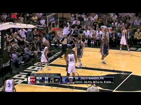 NBA Playoffs 2011: Memphis Grizzlies Vs San Antonio Spurs Game 5 Highlights Gary Neal Buzzer Beater