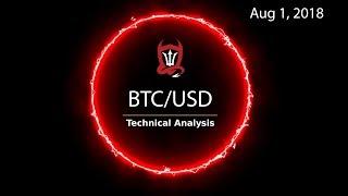 Bitcoin Technical Analysis (BTC/USD) : Bull. Bear.  Or Waiting.. . [08/01/2018]