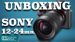 Sony 12-24mm F4 G Lens Unboxing Review