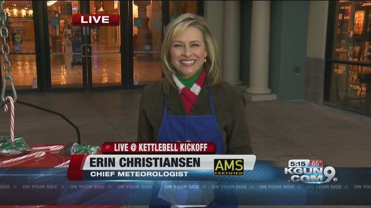 Chief meteorologist erin christiansen s kgun 9 forecast friday