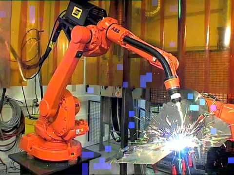 Abb Robotics Arc Welding Youtube