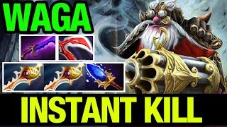 INSTANT KILL - WAGAMAMA SNIPER WITH ULT ABUSE! - Dota 2