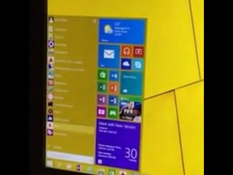 Microsoft unveils first look at Windows 10