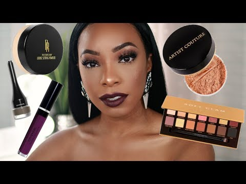 TRYING NEW MAKEUP! | FULL FACE OF FIRST IMPRESSIONS MAKEUP TUTORIAL