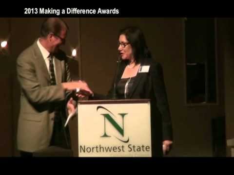 From TV26 - The 2013 Making a Difference Awards from Northwest State Community College