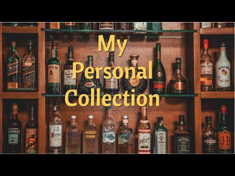 My Personal Alcohol Collection | #FanFriday