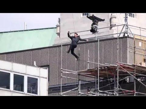 Tom Cruise SUFRE impactante ACCIDENTE en el rodaje de