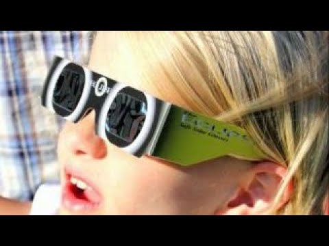 Protecting your eyes while watching the solar eclipse