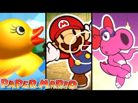 Paper Mario ALL THINGS in Color Splash & Sticker Star (Wii U, 3DS)