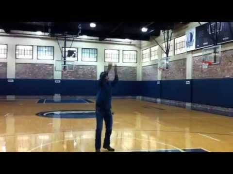 Dallas Mavericks Practice Court Free Throw