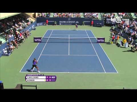Serena Williams vs Angelique Kerber, Stanford Classic 2014 (Finale), highlights HD + Trophy Ceremony