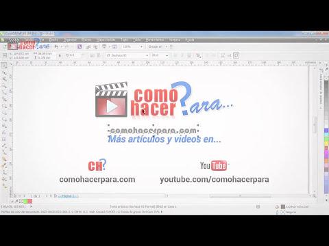 Tutorial CorelDraw - Uso de la Herramienta Texto en Corel