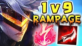 NEW FULL AD PROJECT: VI JUNGLE SPOTLIGHT | 1 V 9 RAMPAGE | KAMEHAMEHA | THE RAID BOSS - Nightblue3