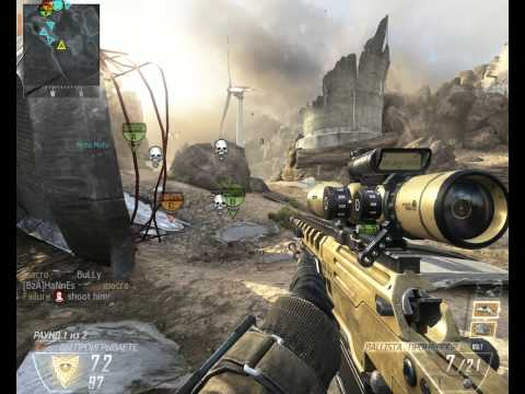 Call of Duty Black Ops 2 - Игра за снайпера