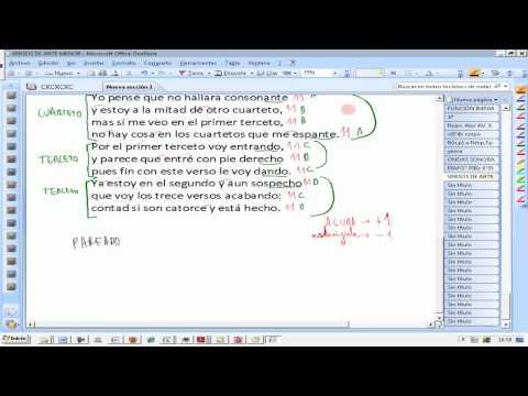 Analizar Poema Poesía Rima Estrofa Nº sílabas Lengua 3º ESO AINTE Ezequiel Fernández Flores