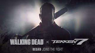 Live Reaction Tekken 7 Negan reveal Season pass 2