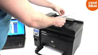 HP Laserjet Pro 100 Color MFP M175NW review en unboxing (NL/BE)