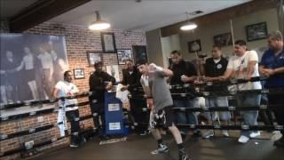 John Molina media workout, May 24, 2016