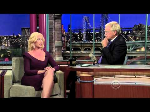 Katherine Heigl and David Letterman speaking on Electronic Cigarettes