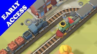 The Arrival of Early Access   Train Valley 2 Episode 3