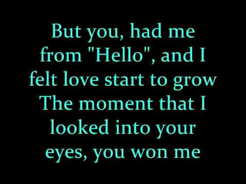 Kenny Chesney You Had Me From Hello Lyrics MP3