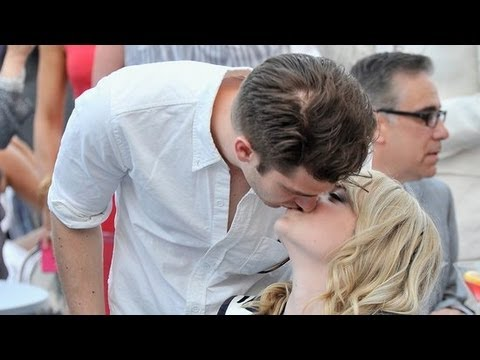 Andrew Garfield And Emma Stone Kiss At Breast Cancer Event | Popsugar News video