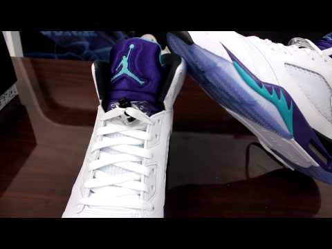 Air Jordan Retro 5 Grapes Review
