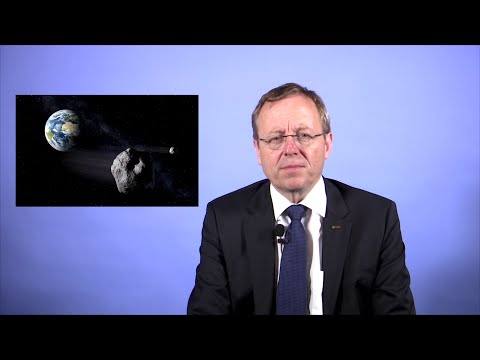 ESA Director General marks Asteroid Day 2016