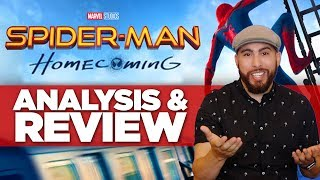 Spiderman Homecoming REVIEW - Themes & Characters ANALYZED (Spider-Man Homecoming Review)