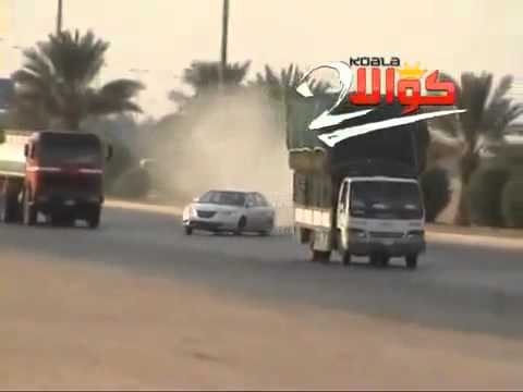 Crazy driving in Saudi Arabia