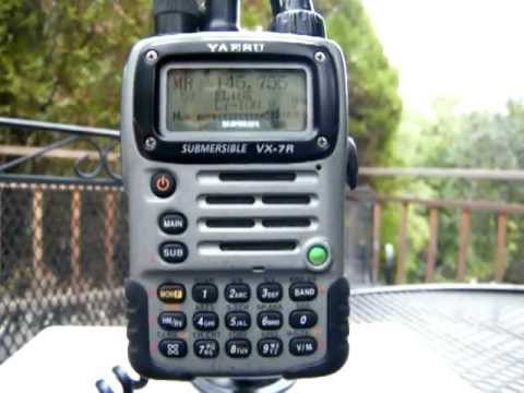 Yaesu VX-7R dual band transmit problems