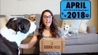 Barkbox April 2018 Unboxing - Extra Toy Club