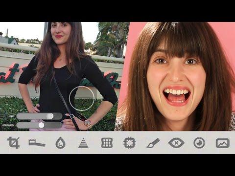 Women Try A Celebrity Body Slimming App