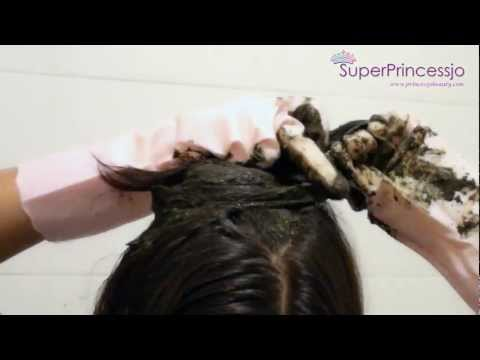 How To Apply Henna For Hair Color Dye Treatment Growth, Shine Conditioning and Hair Growth Faster