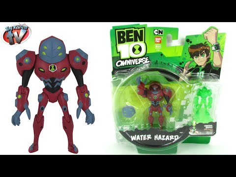 Ben 10 Omniverse Water Hazard Action Figure Toy Review, Bandai