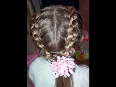 How to do a Daisy Chain/Knotted Braid Video