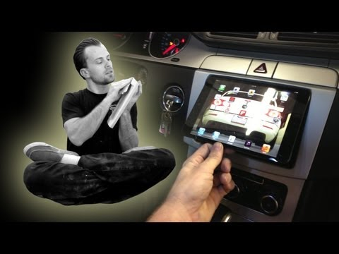 Amplified - How to install an iPad mini in the dash of your car, VW CC. Audison Bit Ten D tune Escalade, EP 78