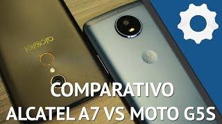 Alcatel A7 vs Moto G5s - Qual dos dois smartphones é melhor?