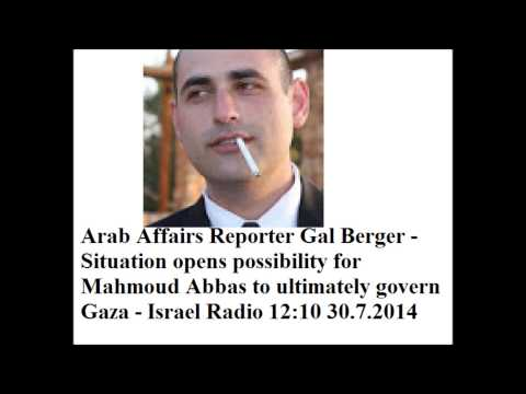 Arab Affairs Reporter Gal Berger  Situation opens possibility for Mahmoud Abbas to ultimately govern