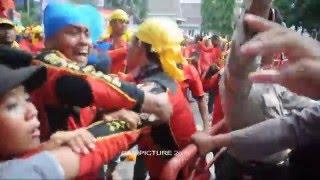 Polisi vs Buruh pada demo MayDay 2016, Jakarta