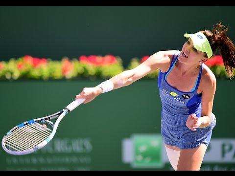 2016 BNP Paribas Open Quarterfinal | Agnieszka Radwanska vs Petra Kvitova | WTA Highlights